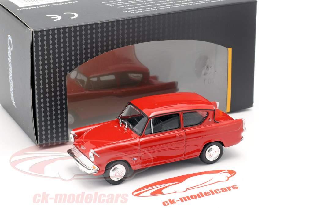 Ford Anglia MKI red 1:43 Cararama