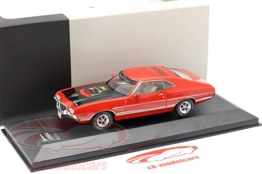 Ford Gran Torino Anno di costruzione 1972 rosso Fiera del giocattolo Norimberga 2015 1:43 Premium X