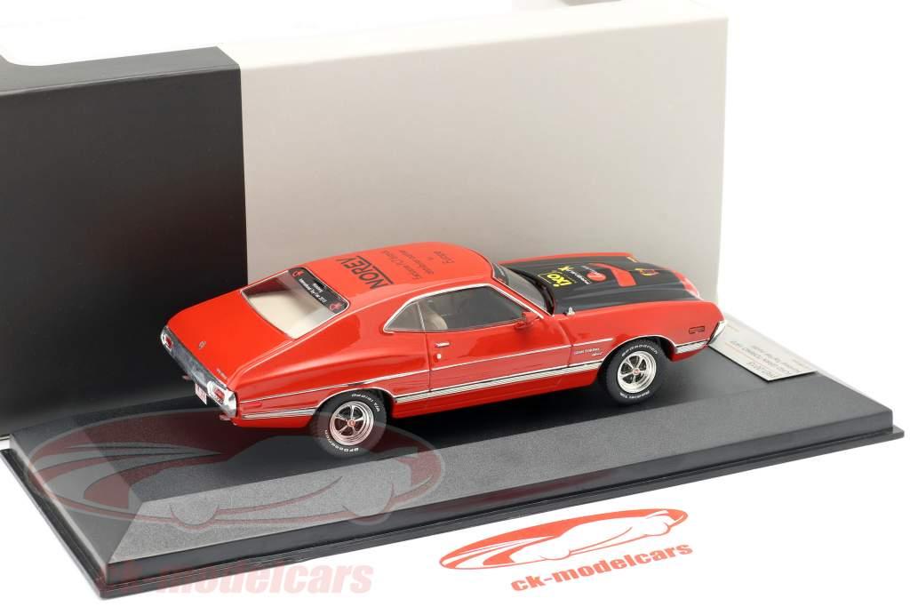 Ford Gran Torino Bouwjaar 1972 rood Speelgoedbeurs Neurenberg 2015 1:43 Premium X