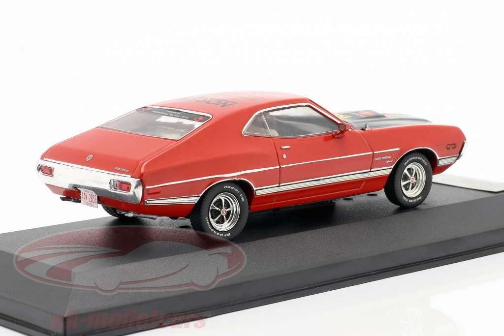 Ford Gran Torino year 1972 red Toy fair Nuremberg 2015 1:43 Premium X