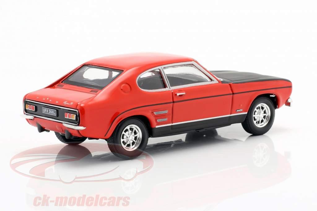 Ford Capri vermelho / preto 1:43 Cararama
