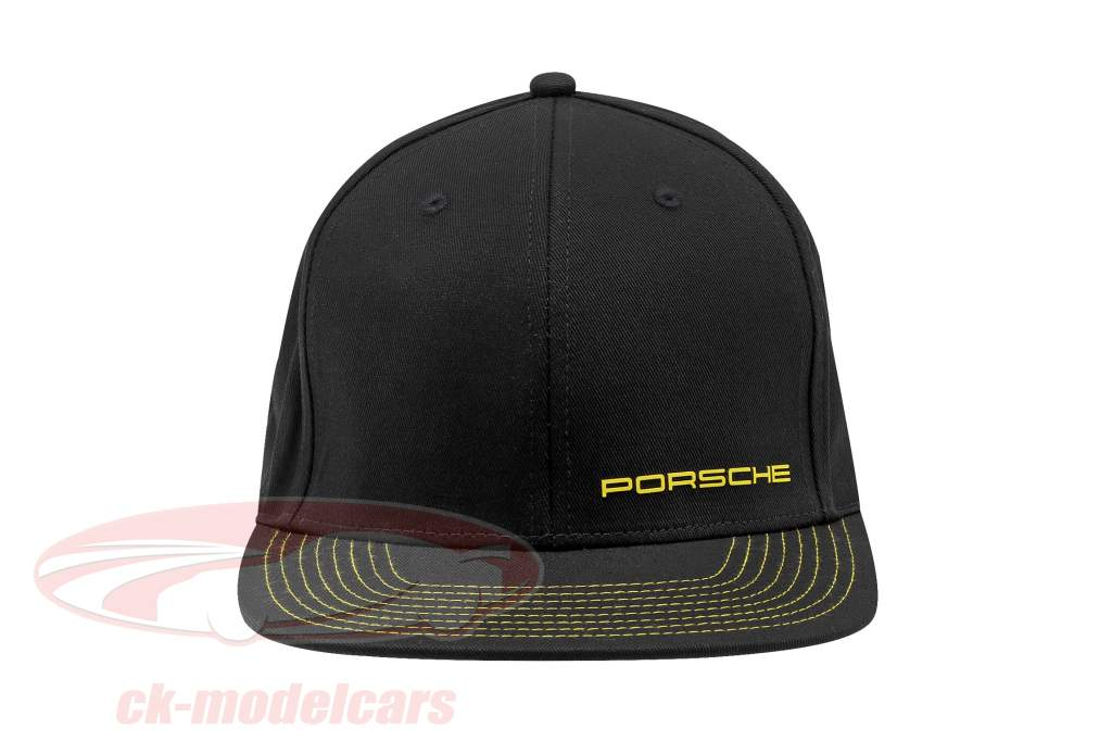 Porsche Baseball-Cap 718 Cayman GT4 Clubsport sort / gul