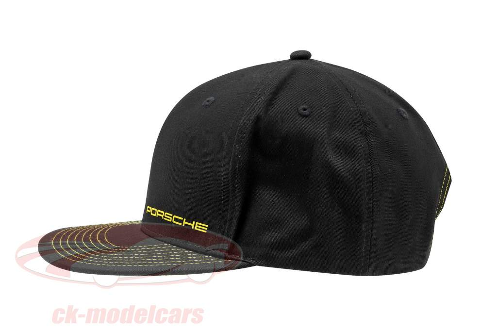 Porsche Baseball-Cap 718 Cayman GT4 Clubsport Preto / amarelo
