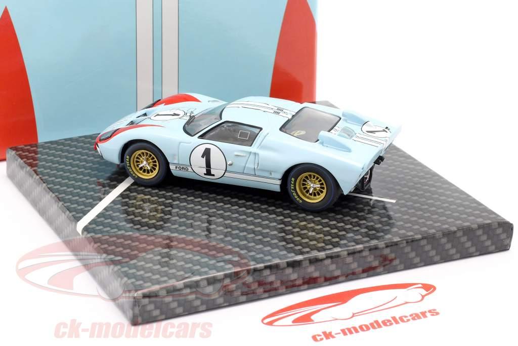 Ford GT40 MK II #1 2do 24h LeMans 1966 Miles, Hulme 1:43 CMR