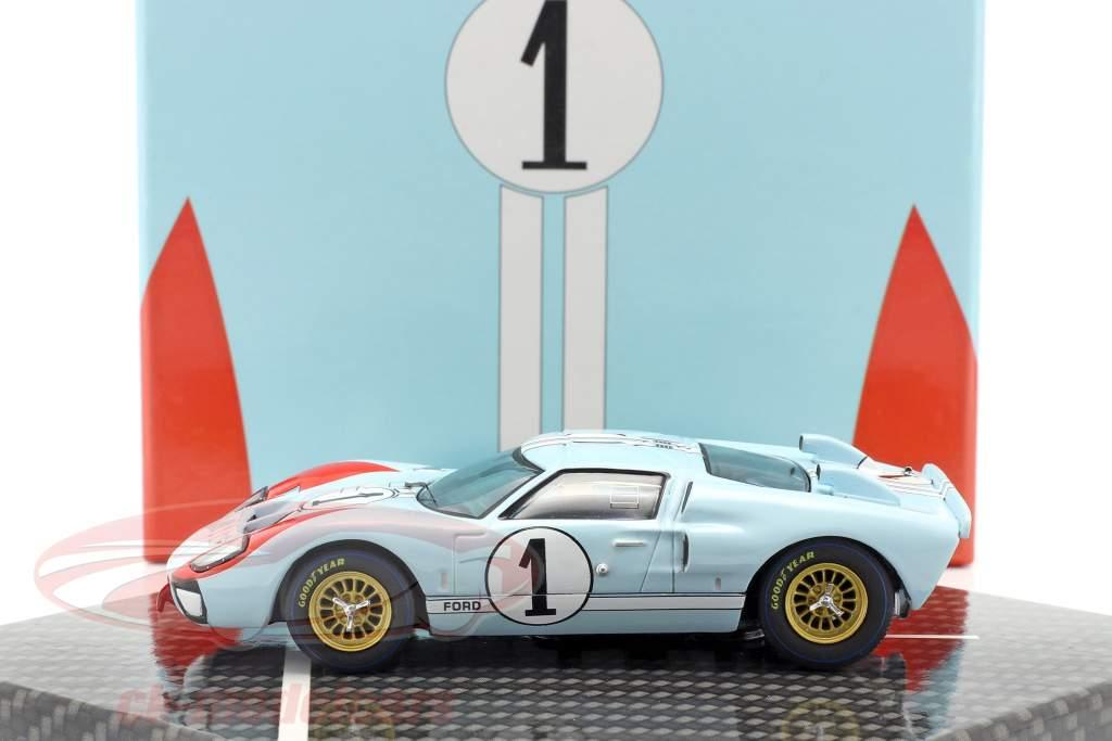 Ford GT40 MK II #1 2 ° 24h LeMans 1966 Miles, Hulme 1:43 CMR