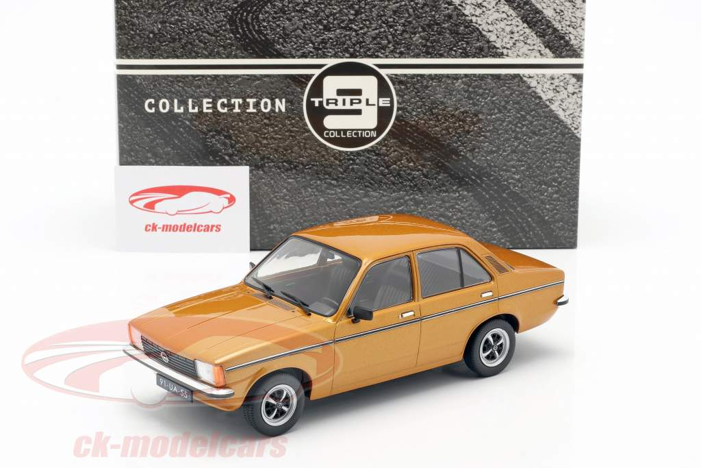 Opel Kadett C2 anno 1977 oro 1:18 Triple9