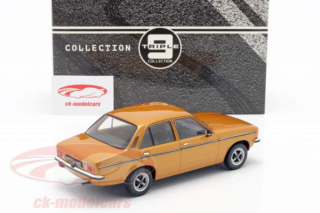Opel Kadett C2 année 1977 or 1:18 Triple9