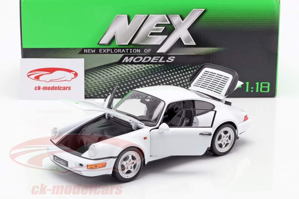 Porsche 911 (964) Turbo weiß 1:18 Welly