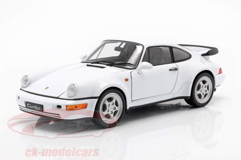 Porsche 911 (964) Turbo Branco 1:18 Welly