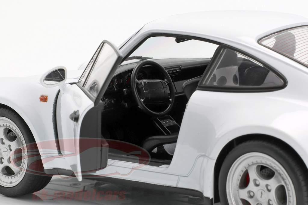 Porsche 911 (964) Turbo hvid 1:18 Welly