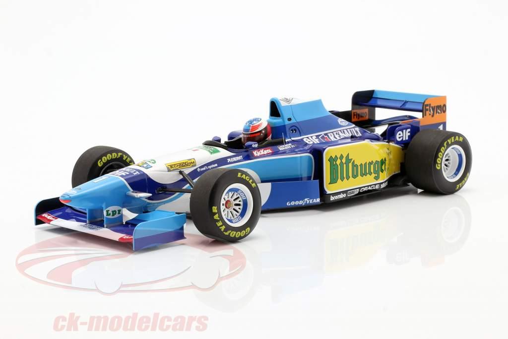 M. Schumacher Benetton B195 #1 Verdensmester Monaco GP F1 1995 1:18 Minichamps