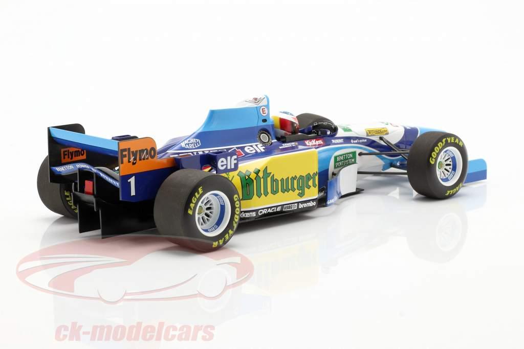 M. Schumacher Benetton B195 #1 Wereldkampioen Monaco GP F1 1995 1:18 Minichamps