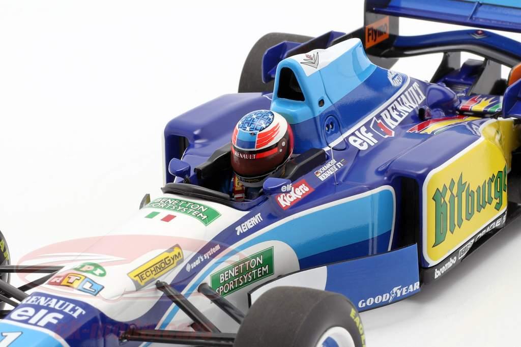 M. Schumacher Benetton B195 #1 Campione del mondo Monaco GP F1 1995 1:18 Minichamps