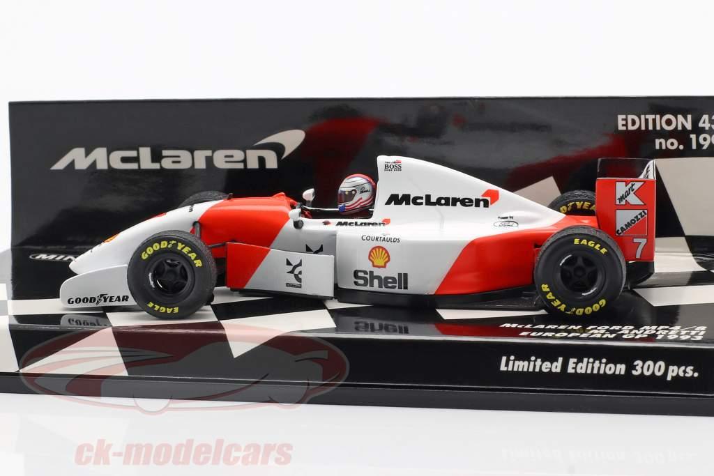 Michael Andretti McLaren MP4/8 #7 Europe GP F1 1993 1:43 Minichamps