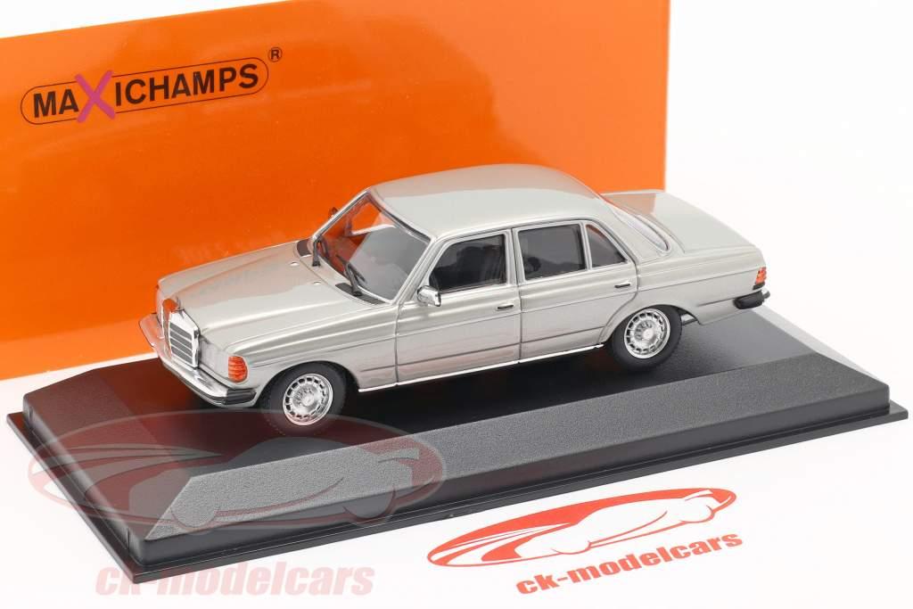 Mercedes-Benz 230 E (W123) Baujahr 1982 silber 1:43 Minichamps
