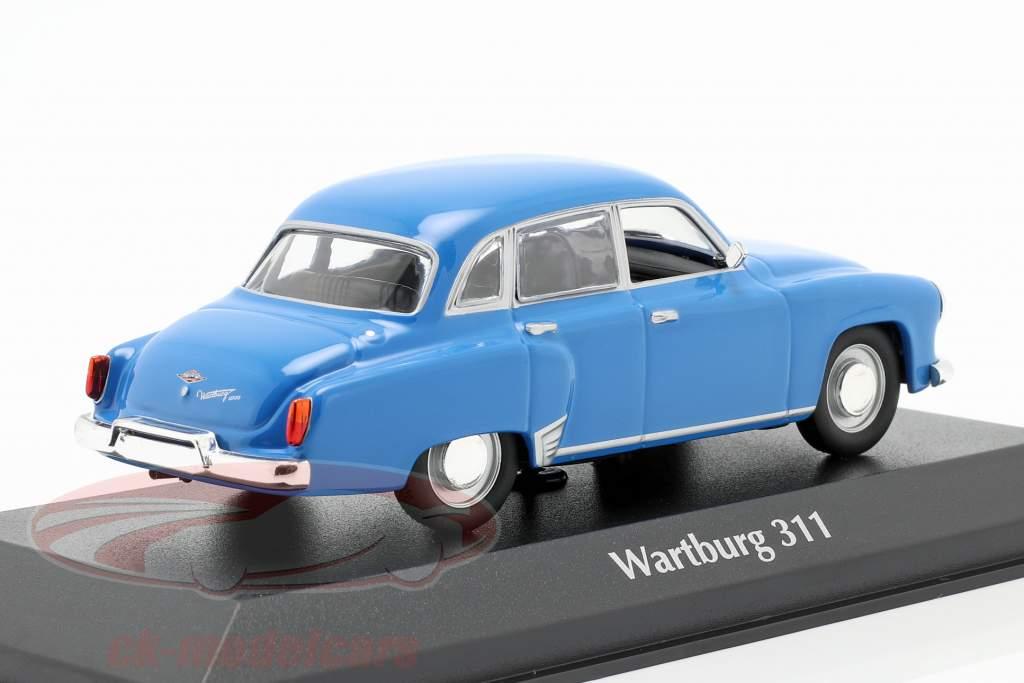 Wartburg 311 anno 1959 blu 1:43 MInichamps