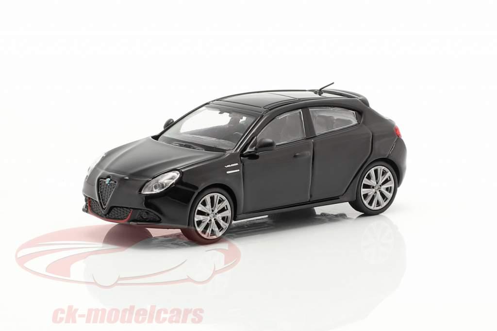 Alfa Romeo Giulietta Veloce år 2017 sort 1:87 Minichamps