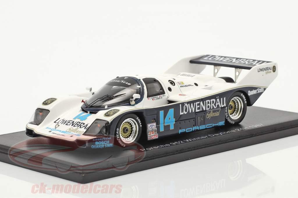 Porsche 962 #14 Winner 24h Daytona 1987 Robinson, Bell, Al Unser Jr., Holbert 1:43 Spark