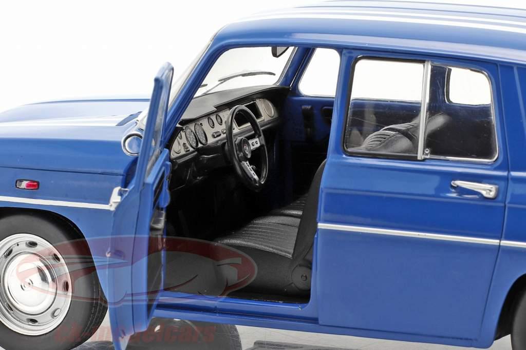 2-car set Renault R5 Turbo & Renault R8 Gordini blue 1:18 Solido