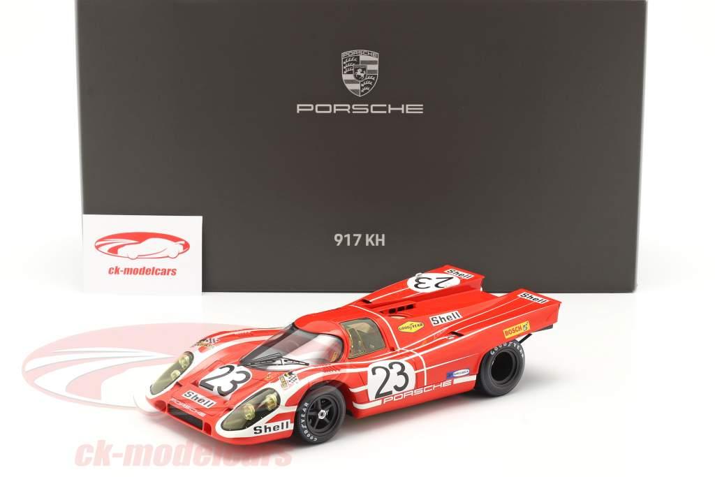Porsche 917K #23 vencedora 24h LeMans 1970 Attwood, Herrmann Com Mostruário 1:18 Spark