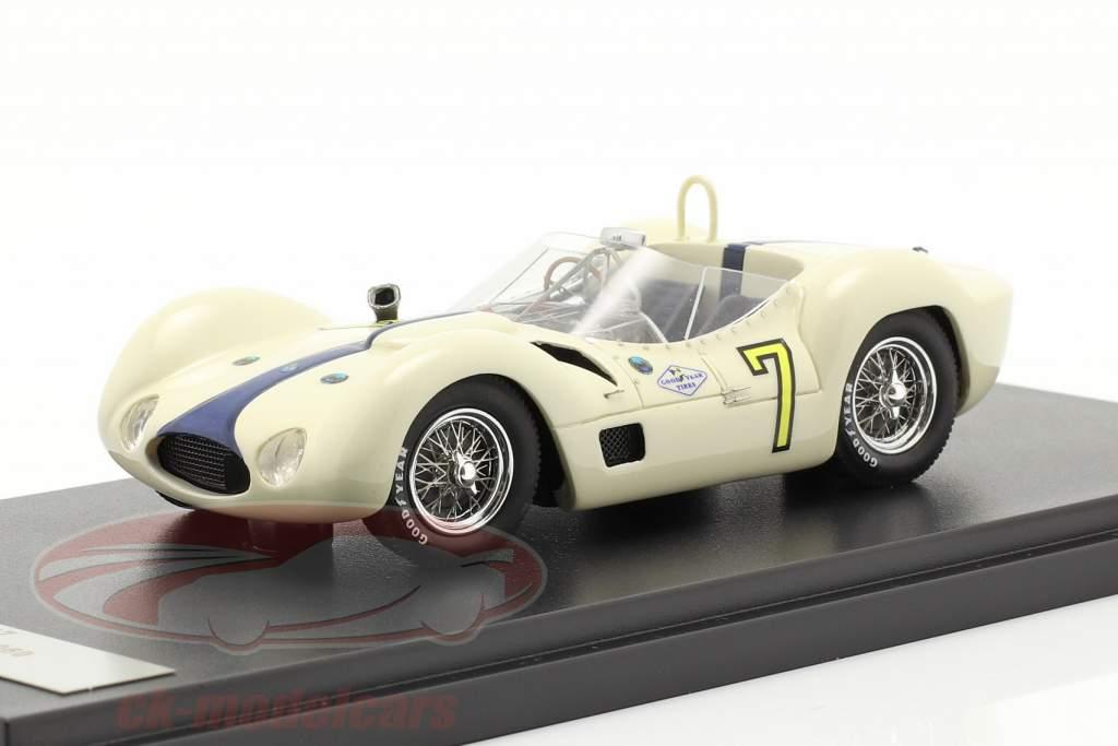 Maserati Tipo 61 #7 Winner Libertad GP Cuba 1960 Moss 1:43 Matrix
