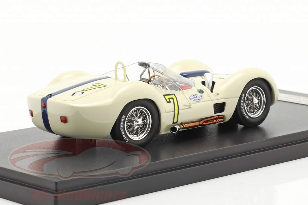 Maserati Tipo 61 #7 vencedora Libertad GP Cuba 1960 Moss 1:43 Matrix