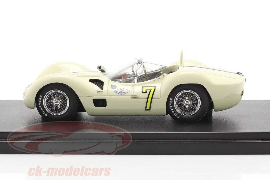 Maserati Tipo 61 #7 gagnant Libertad GP Cuba 1960 Moss 1:43 Matrix