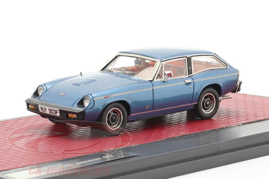 Jensen GT Année de construction 1975-1976 bleu métallique 1:43 Matrix