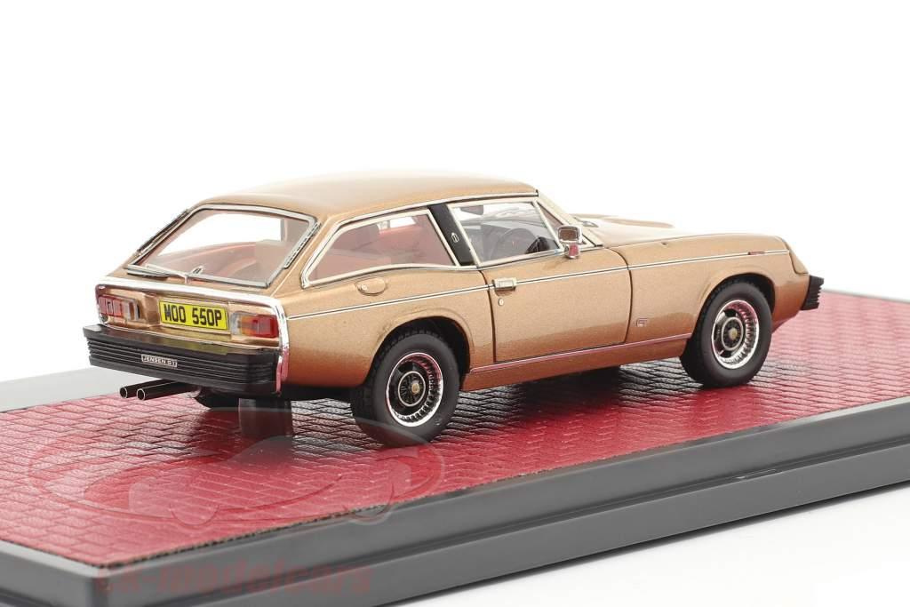 Jensen GT Ano de construção 1975-1976 ouro metálico 1:43 Matrix