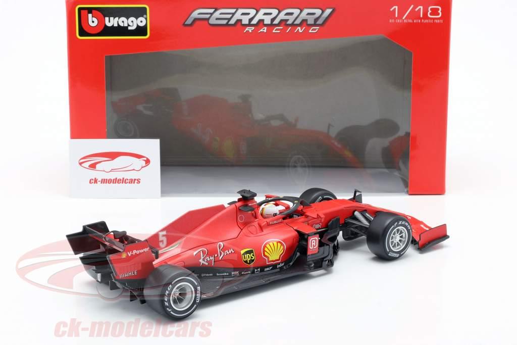 Sebastian Vettel Ferrari SF1000 #5 Austrian GP formula 1 2020 1:18 Bburago