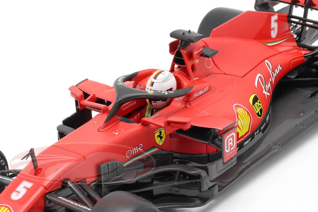 Sebastian Vettel Ferrari SF1000 #5 Østrigsk GP formel 1 2020 1:18 Bburago