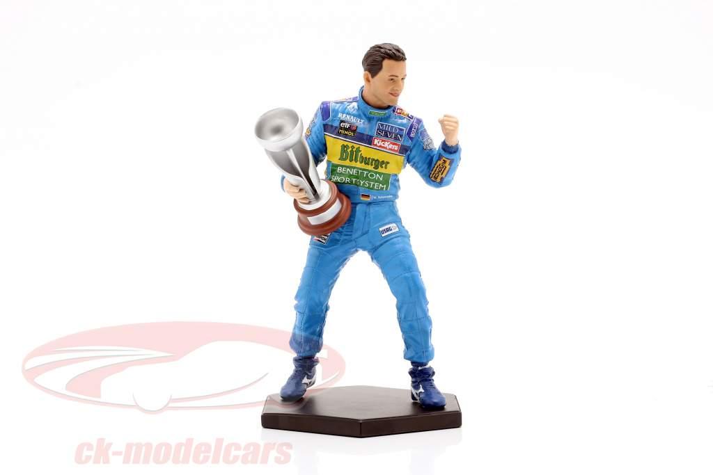 Michael Schumacher figure formula 1 World Champion 1995 1:10 MBA