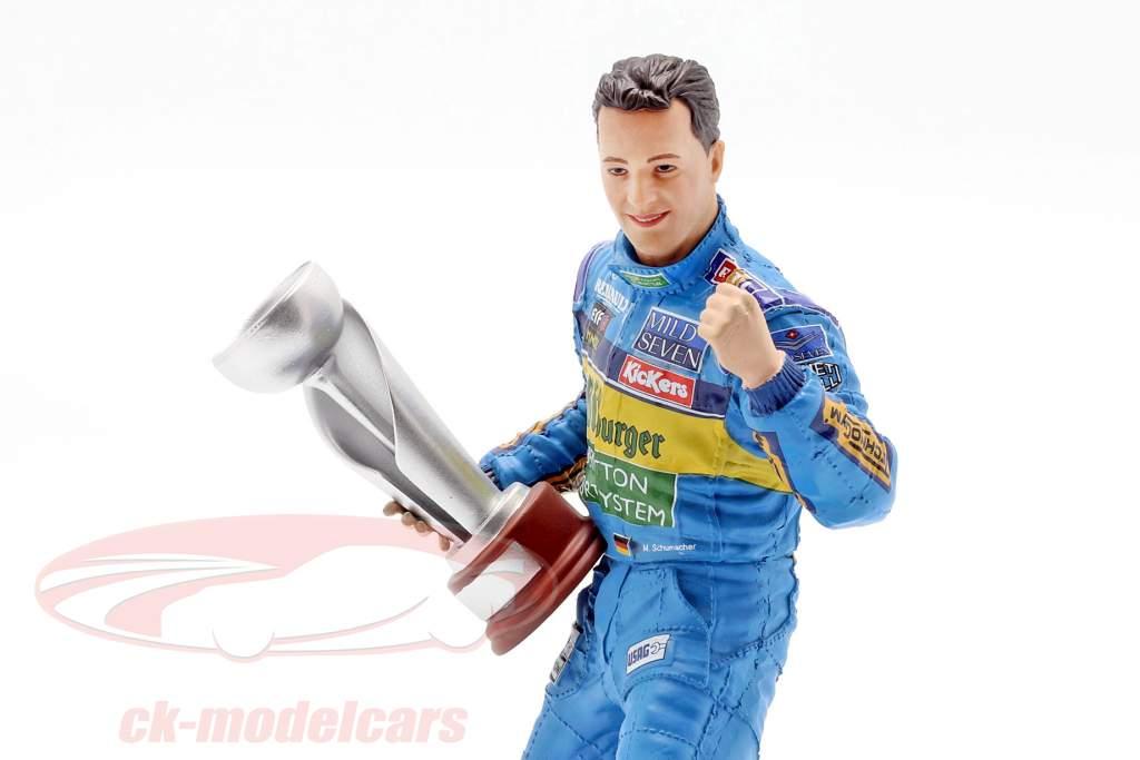 Michael Schumacher Figur Formel 1 Weltmeister 1995 1:10 MBA