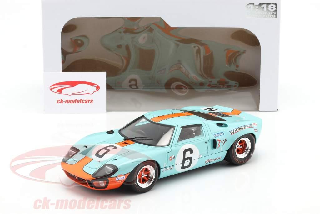 Ford GT40 MK1 #6 Winner 24h LeMans 1969 Ickx, Oliver 1:18 Solido