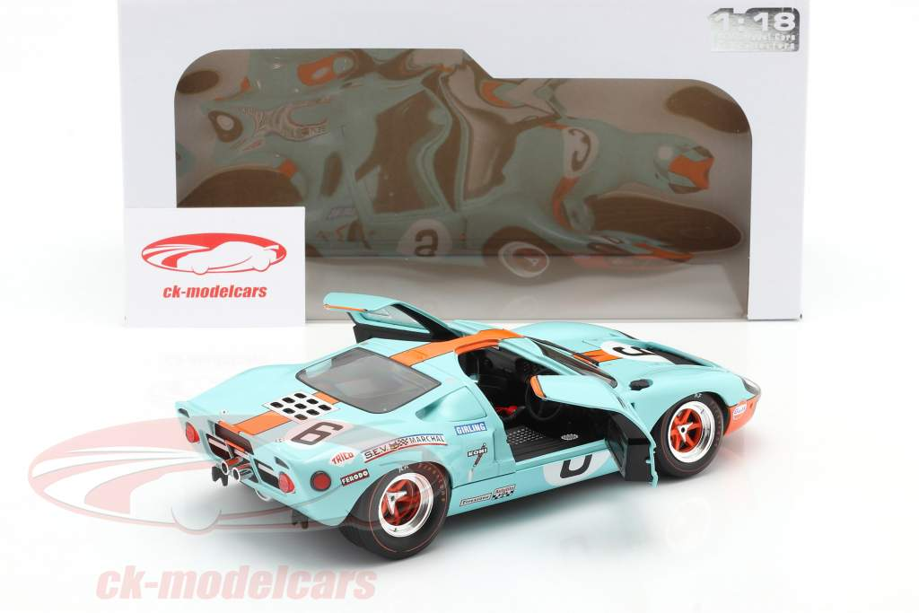 Ford GT40 MK1 #6 优胜者 24h LeMans 1969 Ickx, Oliver 1:18 Solido
