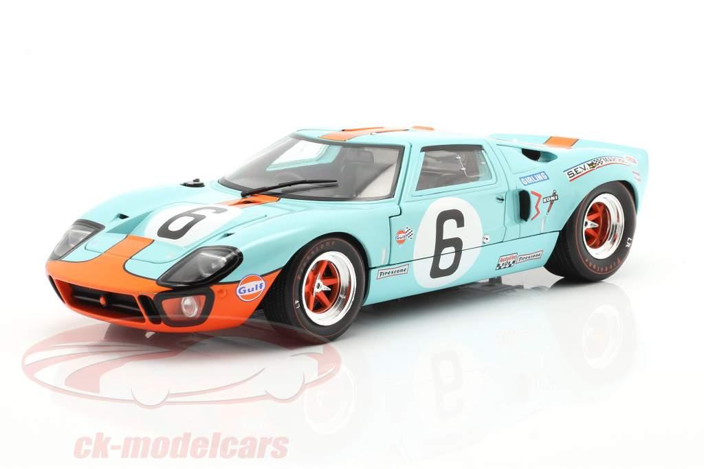 Ford GT40 MK1 #6 Vinder 24h LeMans 1969 Ickx, Oliver 1:18 Solido