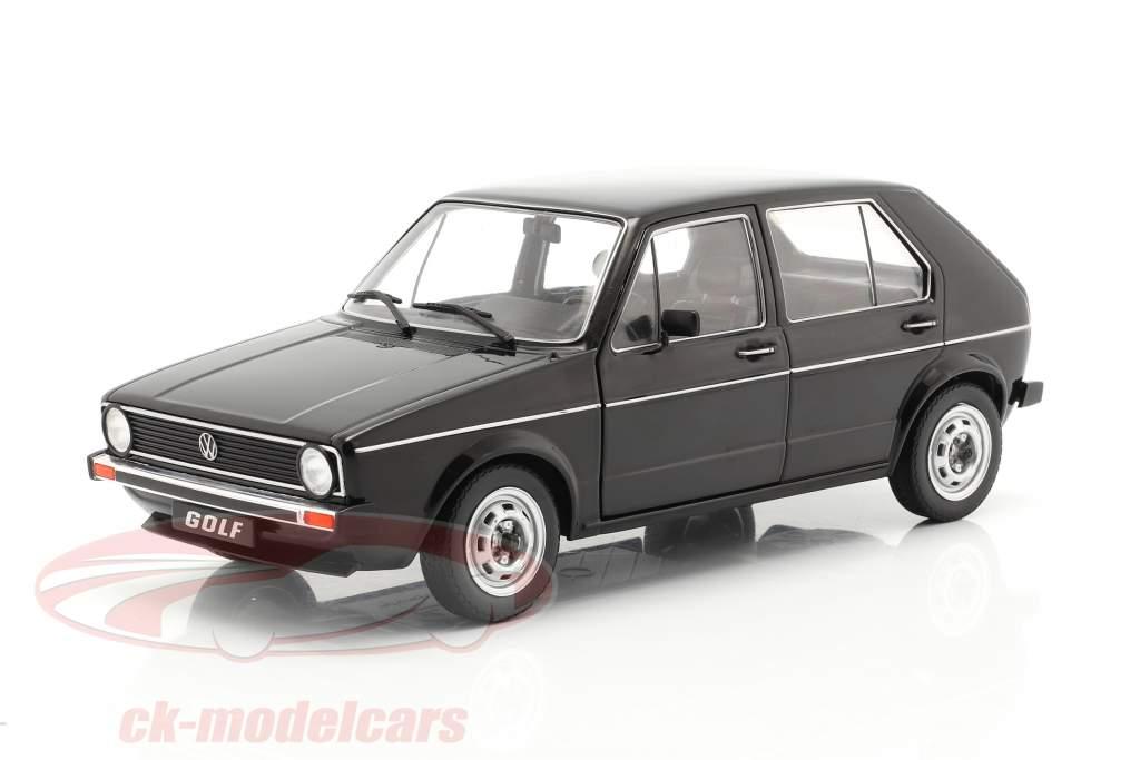 Volkswagen VW Golf L Anno di costruzione 1983 nero 1:18 Solido