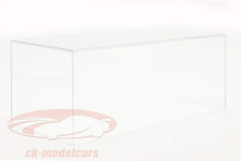 Acryl tampa do showcase para carros modelo no escala 1:18 BBR