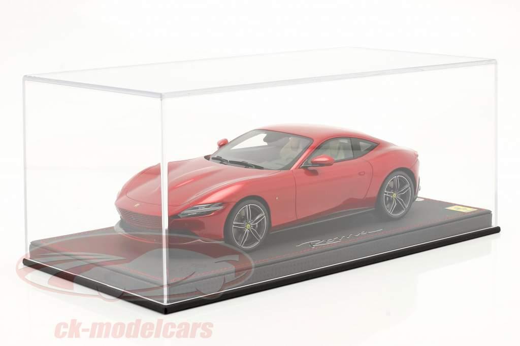 Acryl cubierta de escaparate para coches modelo en el escala 1:18 BBR