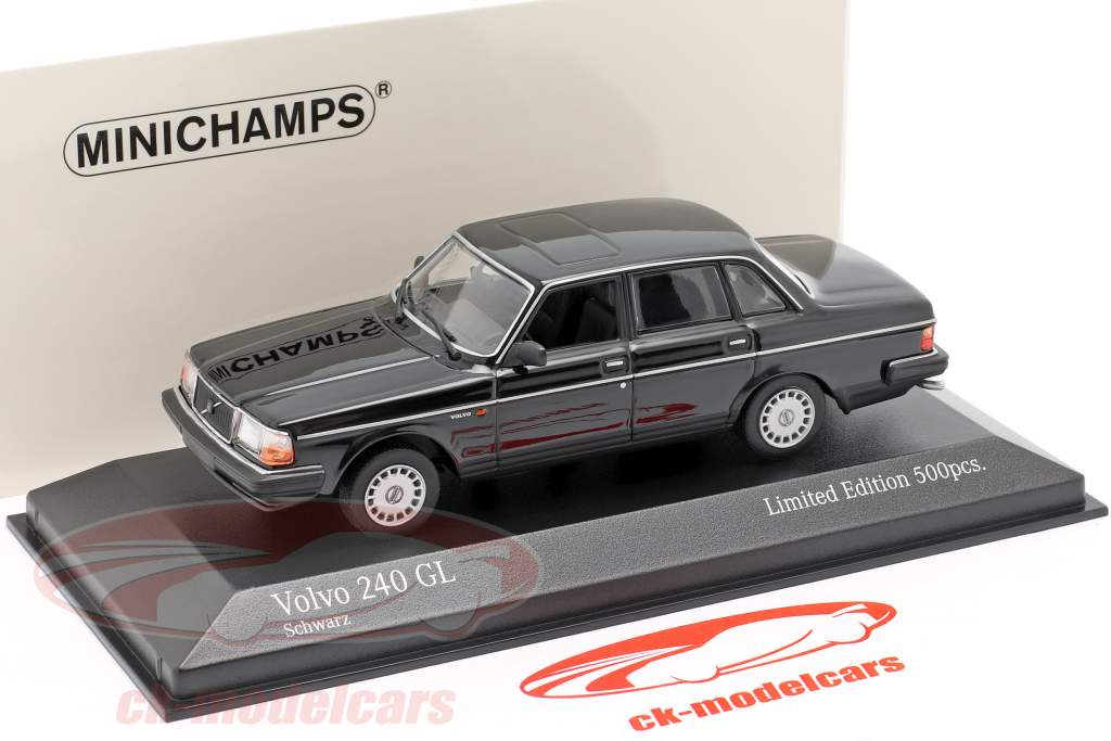 Minichamps 1 43 Volvo 240 Gl Year 1986 Black 943171403 Model Car 943171403 4012138174078