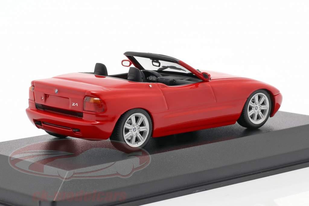 BMW Z1 (E30) Bouwjaar 1991 rood 1:43 Minichamps