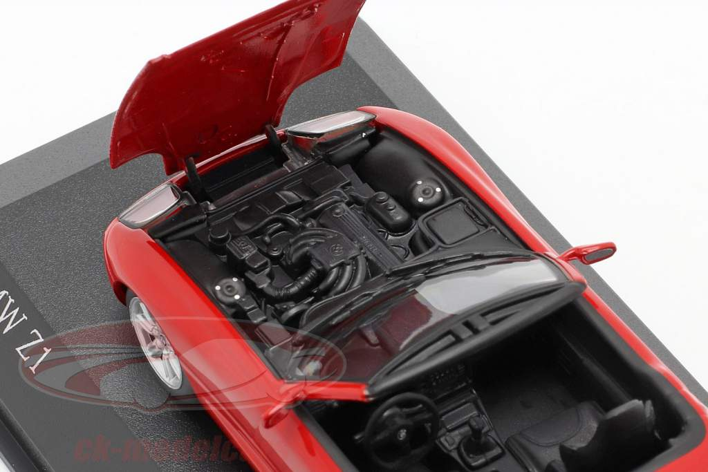 BMW Z1 (E30) year 1991 red 1:43 Minichamps