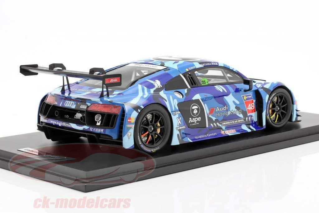 Audi R8 LMS #48 Vincitore Race 2 LMS Cup Sepang 2016 Mortara 1:18 Tarmac Works