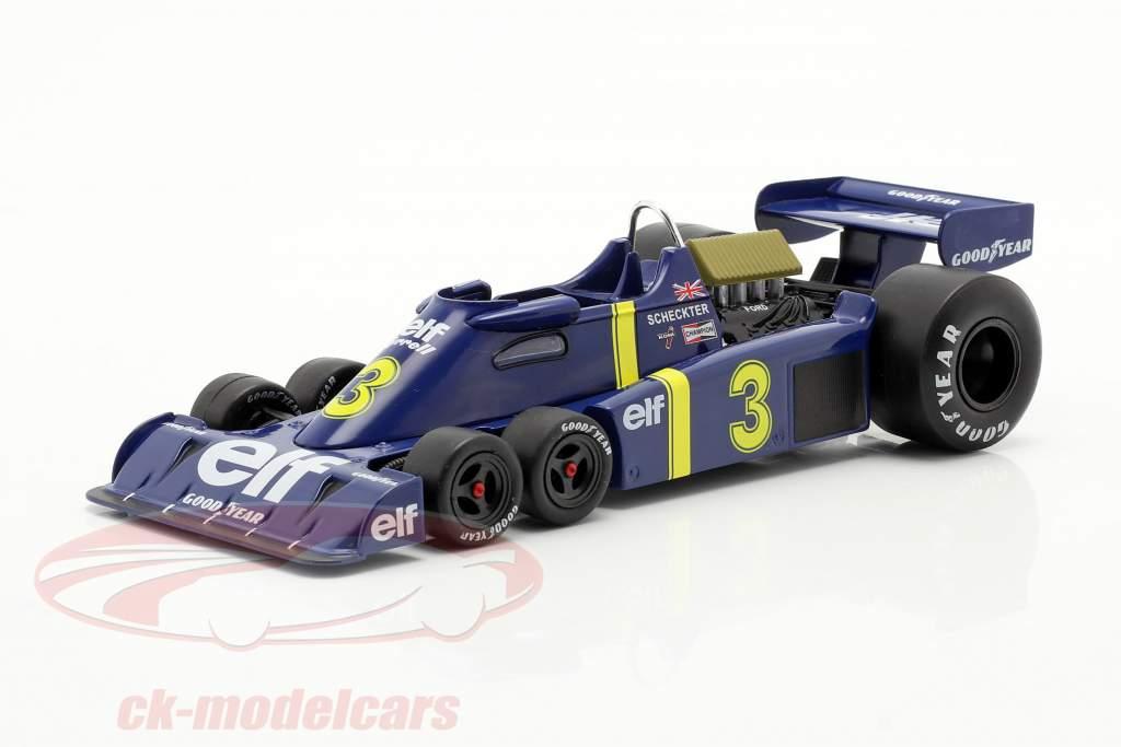 Jody Scheckter Tyrrell P34 #3 formula 1 1976 1:24 Premium Collectibles