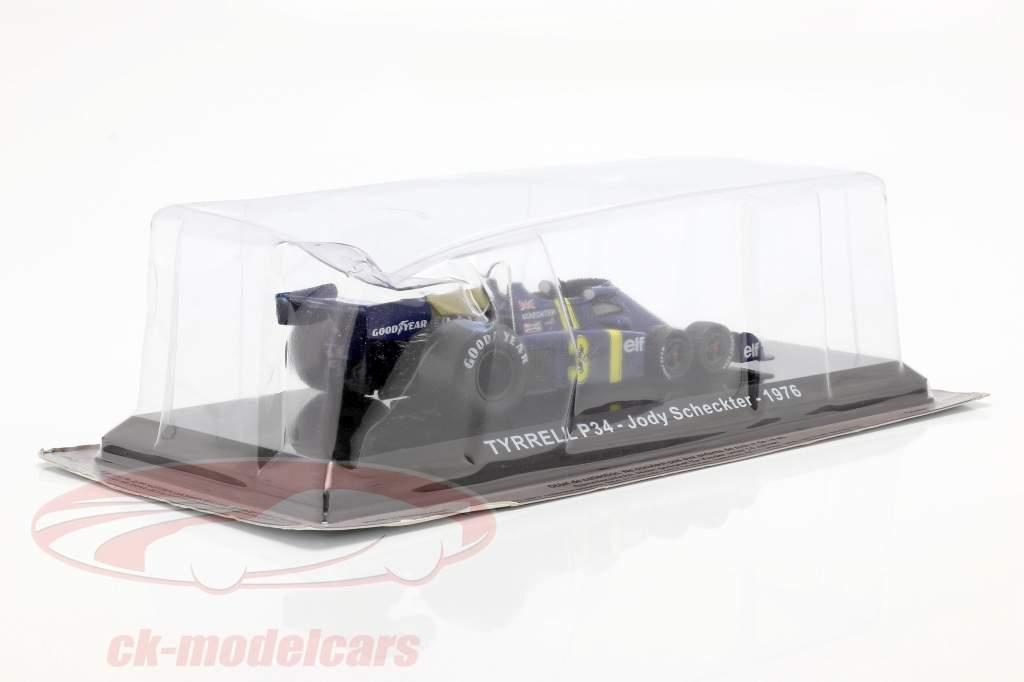 Jody Scheckter Tyrrell P34 #3 Formel 1 1976 1:24 Premium Collectibles