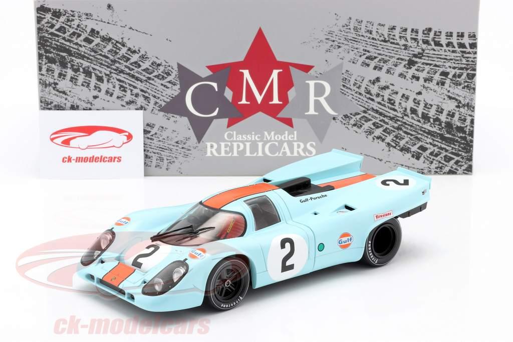 Porsche 917K #2 vencedora 24h Daytona 1970 Rodriguez, Kinnunen, Redman 1:18 CMR