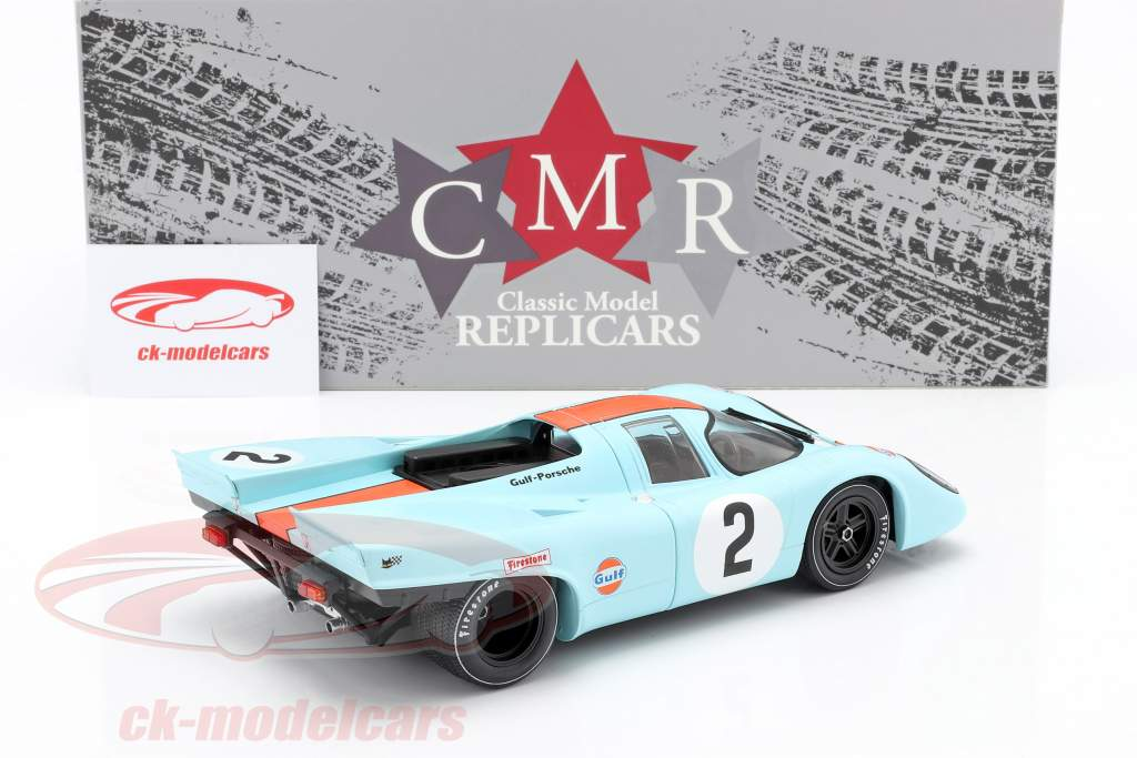 Porsche 917K #2 Sieger 24h Daytona 1970 Rodriguez, Kinnunen, Redman 1:18 CMR