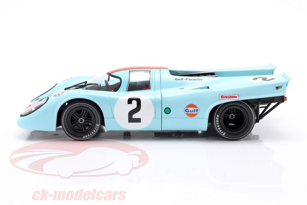 Porsche 917K #2 winner 24h Daytona 1970 Rodriguez, Kinnunen, Redman 1:18 CMR