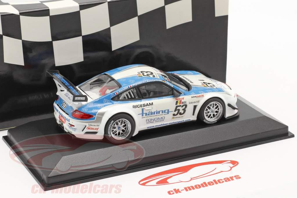 Porsche 911 GT3 R #53 Classe Gagnant 24h Spa 2010 1:43 Minichamps