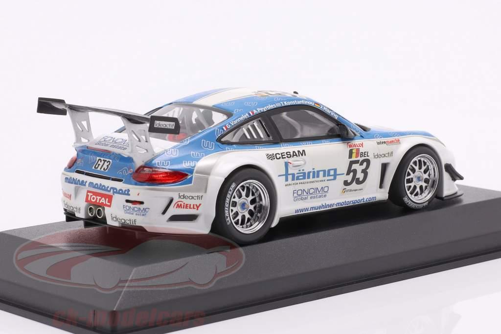 Porsche 911 GT3 R #53 Klasse Vinder 24h Spa 2010 1:43 Minichamps